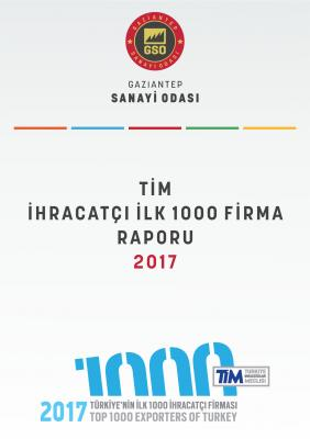 İlk 1000 İhracatçı Firma Raporu