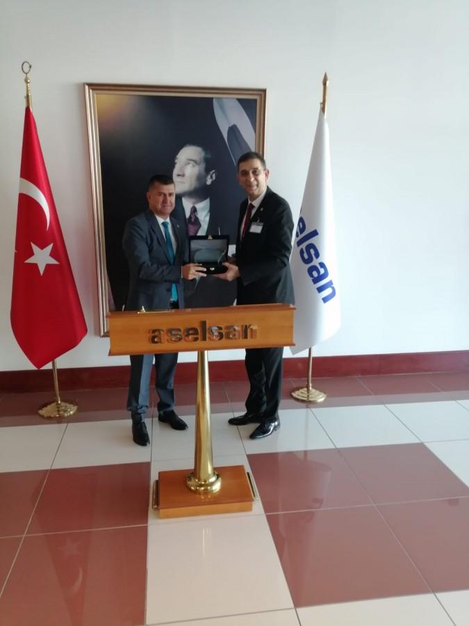 GAZİANTEP'TEN SAVUNMA SANAYİ İÇİN ANKARA'YA ÇIKARMA