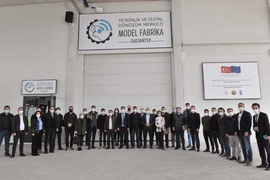 MODEL FABRİKA'DA FRAGMAN EĞİTİMLERİ BAŞLADI