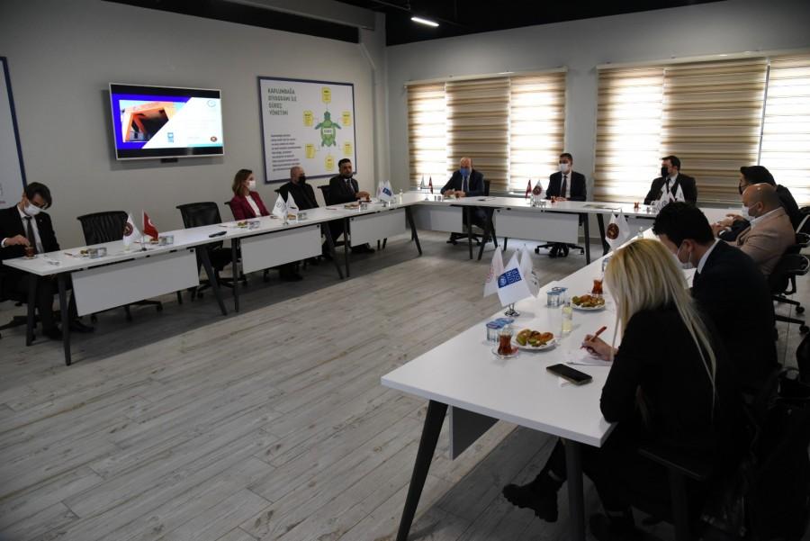 GAGİAD'DAN MODEL FABRİKA'YA ZİYARET
