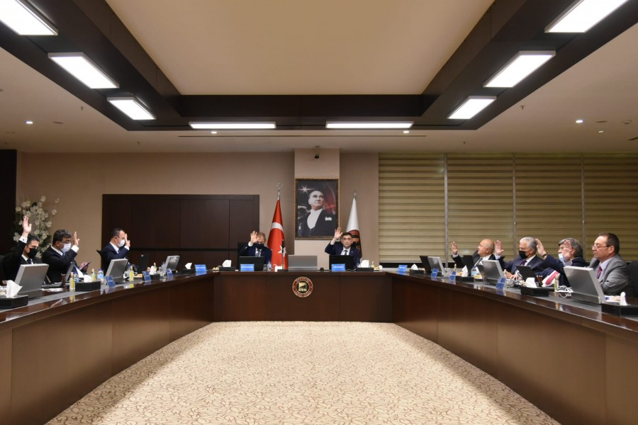 GSO TOBB DELEGELERİ, 76. VE 77. TOBB GENEL KURULU'NA ONLİNE KATILDI